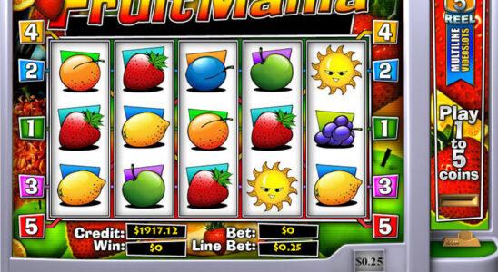 Fruit Machine From Slot Machine
